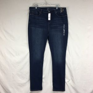 NY & Co Soho Jeans High Waist Skinny Leg Jeans